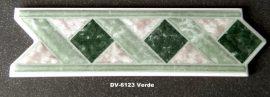 DK-6123 Verde csempedekor-listelo