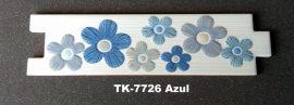 DV-7726 Azul csempedekor-listelo