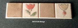 DV-5125 Beige csempedekor-listelo