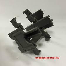 Üvegtégla távtartó-fugakereszt 50x10mm