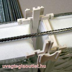 Horganyzott merevítő vasalat 150cm