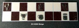 DK-6802 Beige csempedekor-listelo