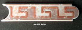 DK-502 Beige csempedekor-listelo