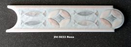 DV-5033 Rosa csempedekor-listelo