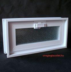 műanyag üvegtégla ablak 2-es fekvő;
