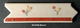 DK-6326 Marron csempedekor-listelo