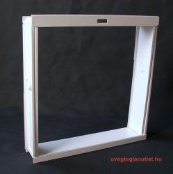 4-es fém üvegtégla ablak;