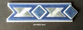 DK-6025 Azul csempedekor-listelo