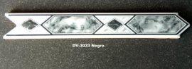 DV-3033 Negro csempedekor-listelo