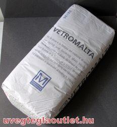 Üvegtégla ragasztó / Vetromalta 25kg / fehér színű