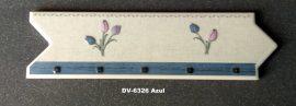 DK-6326 Azul csempedekor-listelo