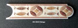 DV-5033 Beige csempedekor-listelo