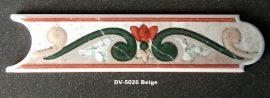 DV-5026 Beige Azul csempedekor-listelo