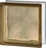 Barna színű üvegtégla