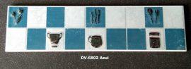 DK-6802 Azul csempedekor-listelo