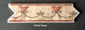 DK-607 Beige csempedekor-listelo