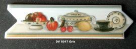 DK-6017 Gris csempedekor-listelo