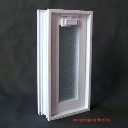 üvegtégla fekvő ablak;müanyag üvegtégla ablak;