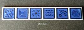 Libra Azul dekorcsempe-listelo