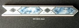 DV-3033 Azul csempedekor-listelo