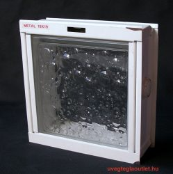 1-es üvegtégla bukó keret