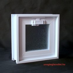24x24cm-es üvegtégla ablak;üvegtégla ablak;