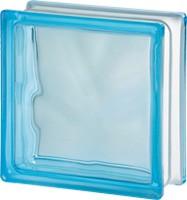 Világoskék üvegtégla