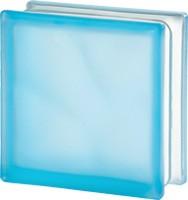 világos kék matt üvegtégla