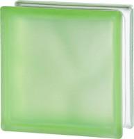 zöld matt üvegtégla