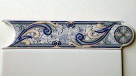 72 Azul csempe dekor OUTLET termék