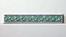 34 Verde csempe dekor OUTLET termék