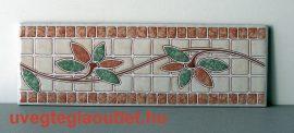 Lirio Corall cenefa csempe dekor OUTLET termék
