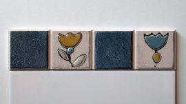 5125 Azul csempe dekor OUTLET termék