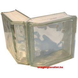 Sarok üvegtégla