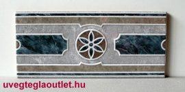 Denia Azul cenefa csempe dekor OUTLET termék