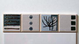 5002 Azul csempe dekor OUTLET termék