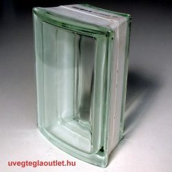 Clearview Íves sarok üvegtégla 45 fokos