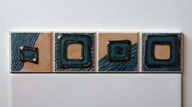 5122 Azul csempe dekor OUTLET termék