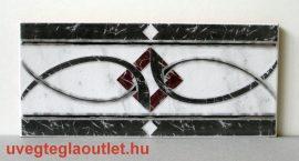 Calpe Gris cenefa csempe dekor OUTLET termék