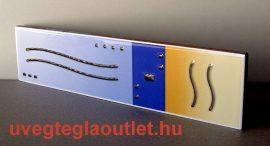 Cadaques Azul cenefa csempe dekor OUTLET termék