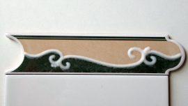5031 Verde csempe dekor OUTLET termék