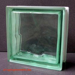zöld hullámos üvegtégla